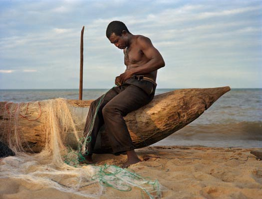 Fisherman Peter Chirwa Age 45 From Ngosi Village