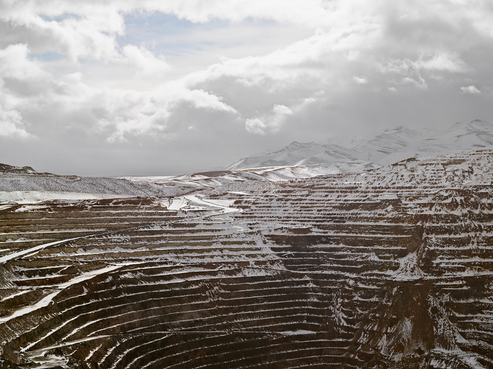 Open Pit, Newmount Mining Corporation, Carlin