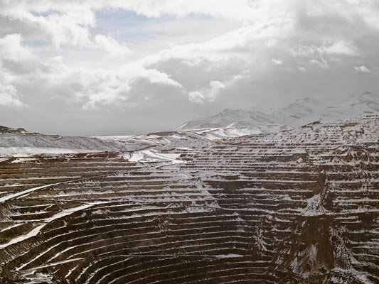 Open Pit, Newmount Mining Corporation, Carlin by Lucas Foglia