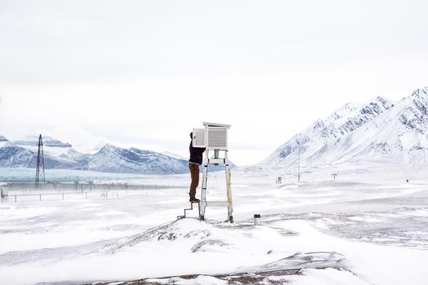 Artic Climate Research by Anna Filipova